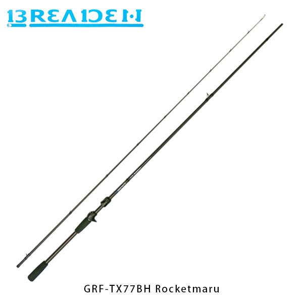 ブリーデン BREADEN ライトゲームロッド GlamourRockFish GRF-TX77BH Rocketmaru ベイトキャスティング BRI4571136851775