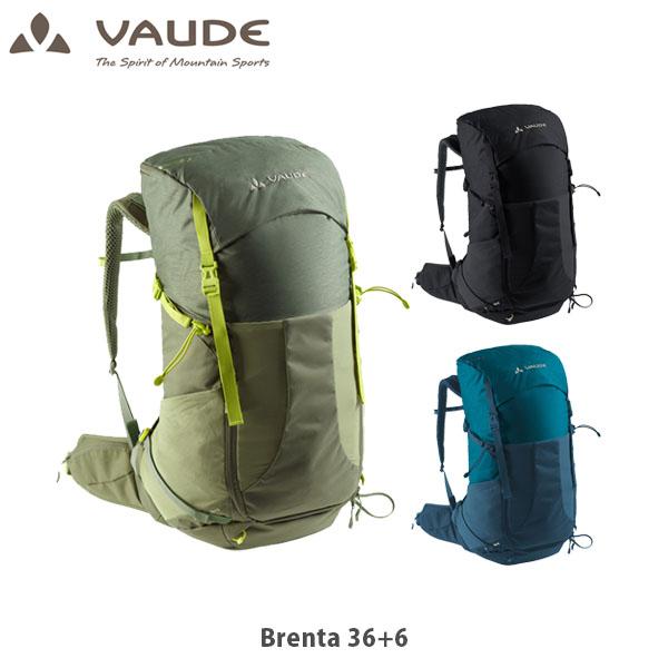 アウトドア 品質保証 送料無料 VAUDE ファウデ ブレンタ 36+6 Brenta 14394 バックパック VAU14394 トレッキング リュック 定番キャンバス ハイキング