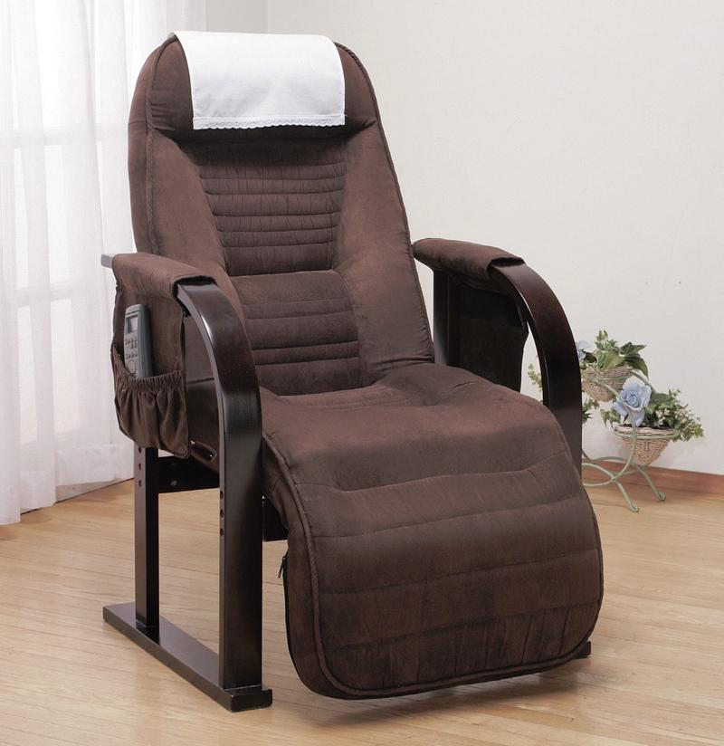 高座椅子 低反発ウレタン リクライニング機能付き