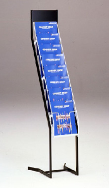 カタログスタンド8段仕様 単独型 送料無料 おすすめ 賜物