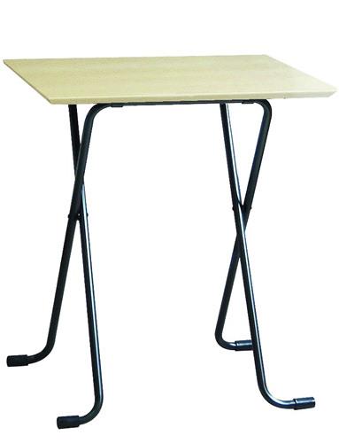 折りたたみフリーテーブル角:ナチュラル680:送料無料