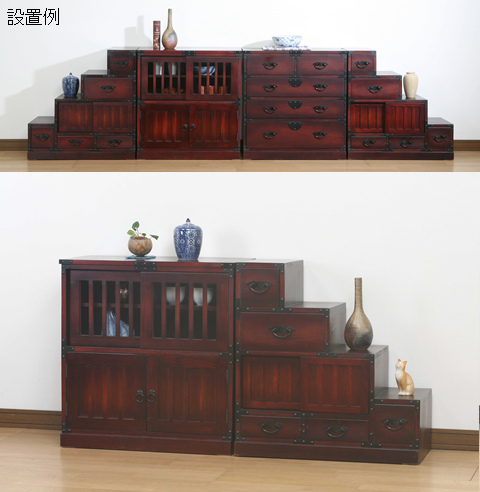 Incroyable Folk Japanese Style Furniture Wardrobe Right Under The Stairs Rising:::::: Japanese  Style Furniture Chests Cabinets Drawers