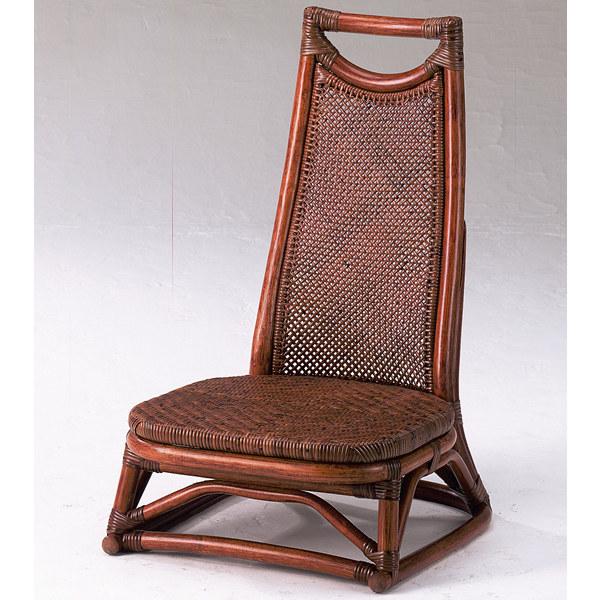 和ラタン◇ハイバック座椅子:送料無料【籐 アジアン】