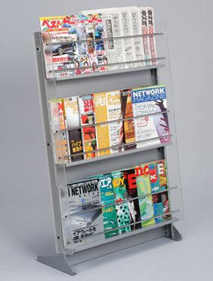 飲食店/美容院/病院用の雑誌・新聞置きMサイズ:送料無料