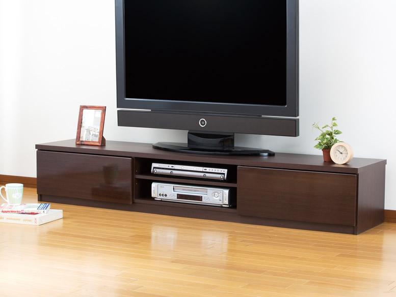 鏡面塗装テレビボード180cm