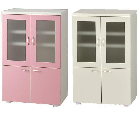 見事な創造力 食器棚完成品日本製ピンクとアイボリーから選択, TEANY(ティーニー):c6c662ff --- hortafacil.dominiotemporario.com