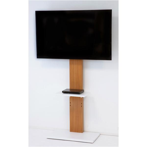 壁掛けっぽく見えるテレビ台ハイタイプ