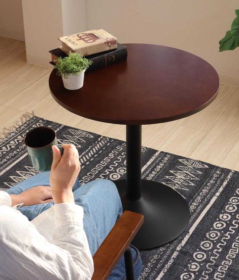 カフェテーブル丸 ラウンドテーブル