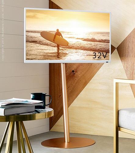 24-45インチ対応(高さ5段階調節可能)テレビスタンド