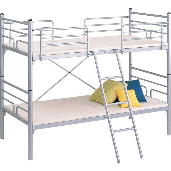 スタッキングスチール2段ベッド