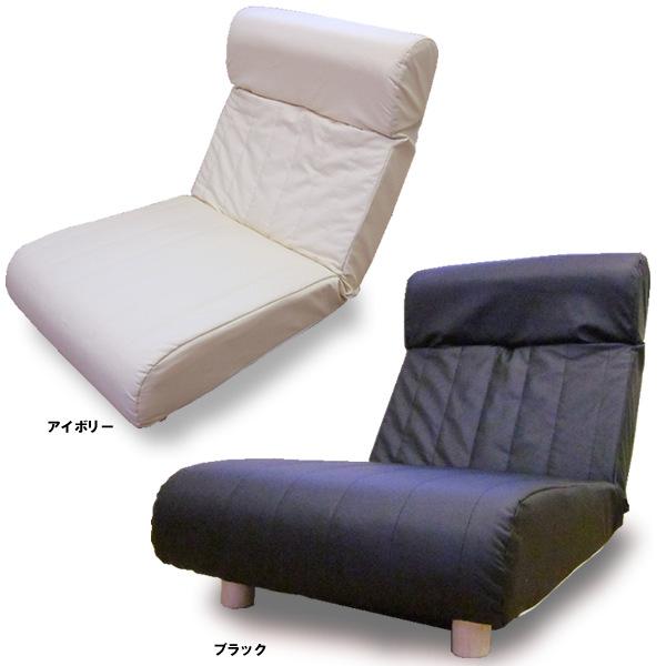 日本製ハイバックソファー1人掛け 木脚付 合皮レザー