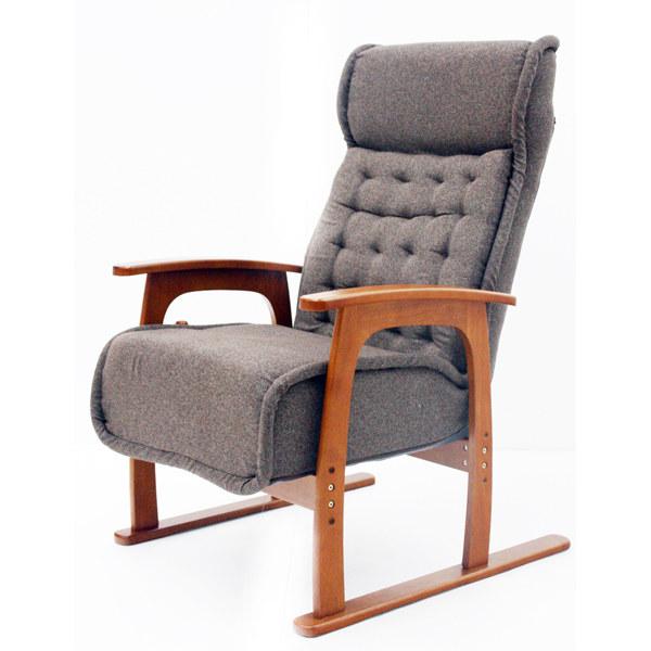 コイル式高座椅子 紅葉