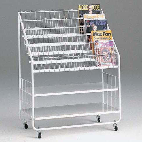 コンビニの雑誌ラック90cm幅送料込み:送料無料kkkez