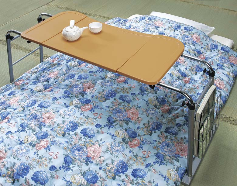 介護テーブル伸縮式
