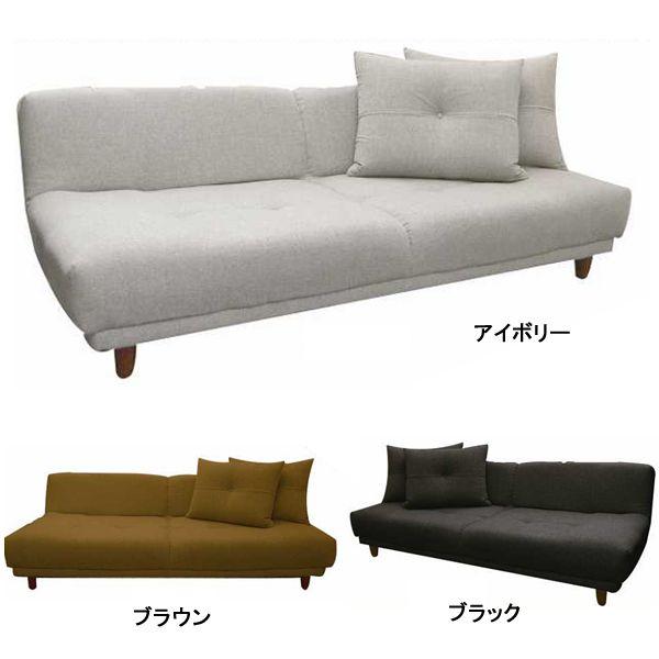 ソファベッド ソファーベット ソファベット ワイド座面リクライニングあぐらソファーベッド:送料無料:日本製
