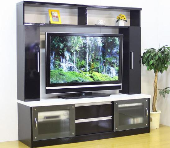 テレビ台ハイタイプ収納たっぷり日本製