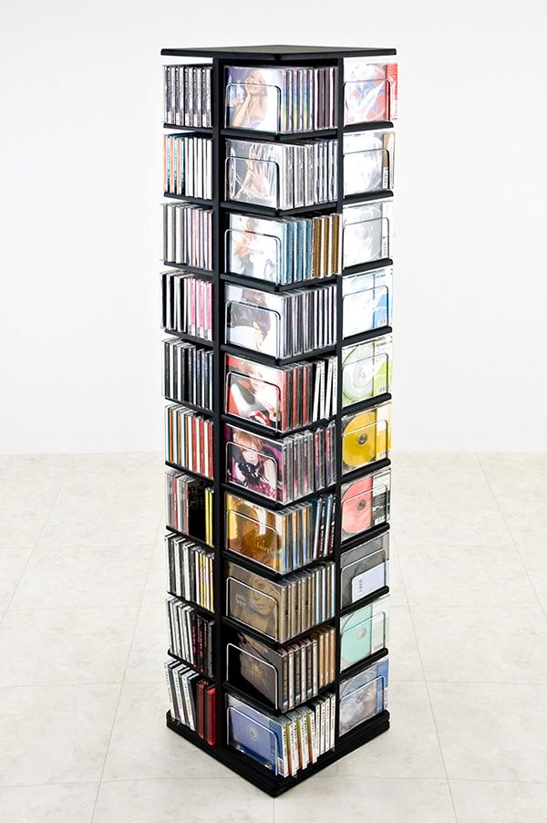CDのみで480枚 DVDのみで216枚 セットアップ 物品 AVメディア収納ラック大容量 VHSのみで120本