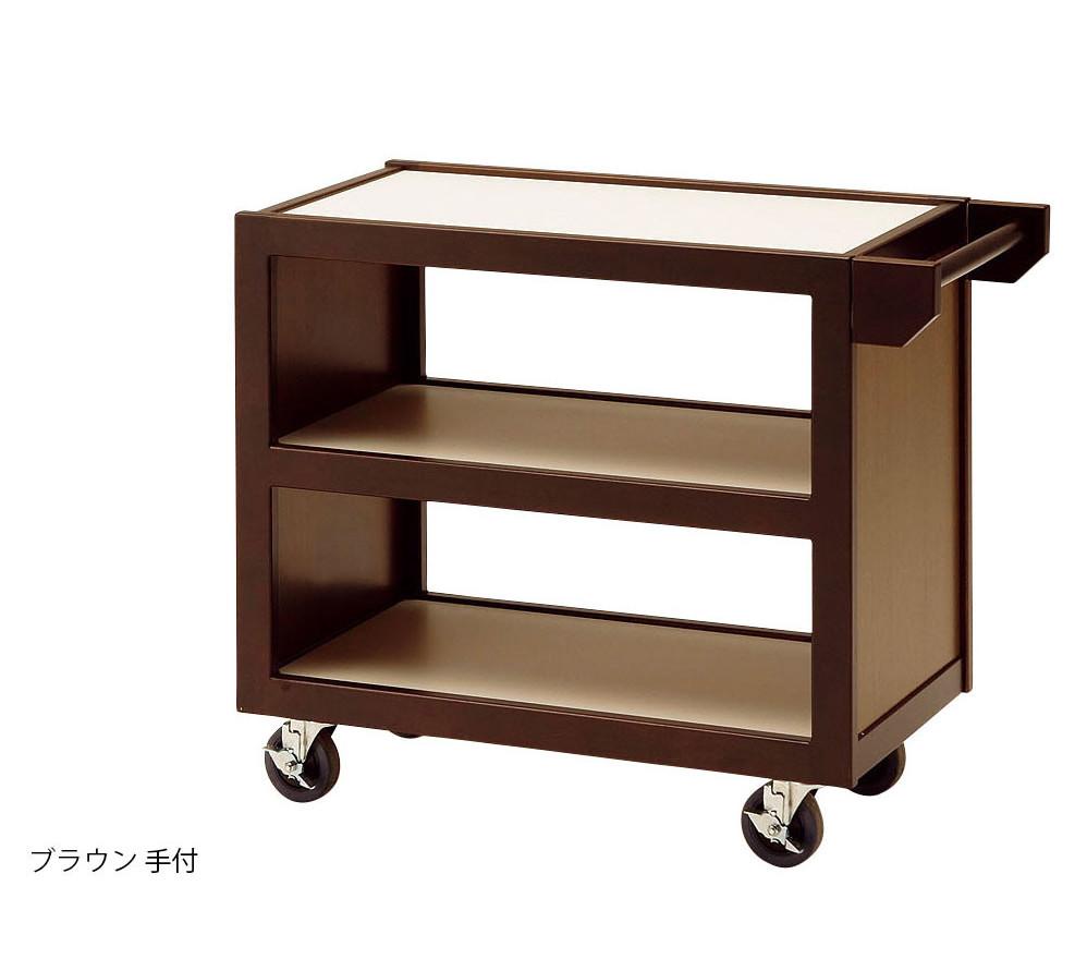 業務用として実績のある人気商品です。 配膳ワゴン高級日本製 飲食店 旅館業務用 天然木製