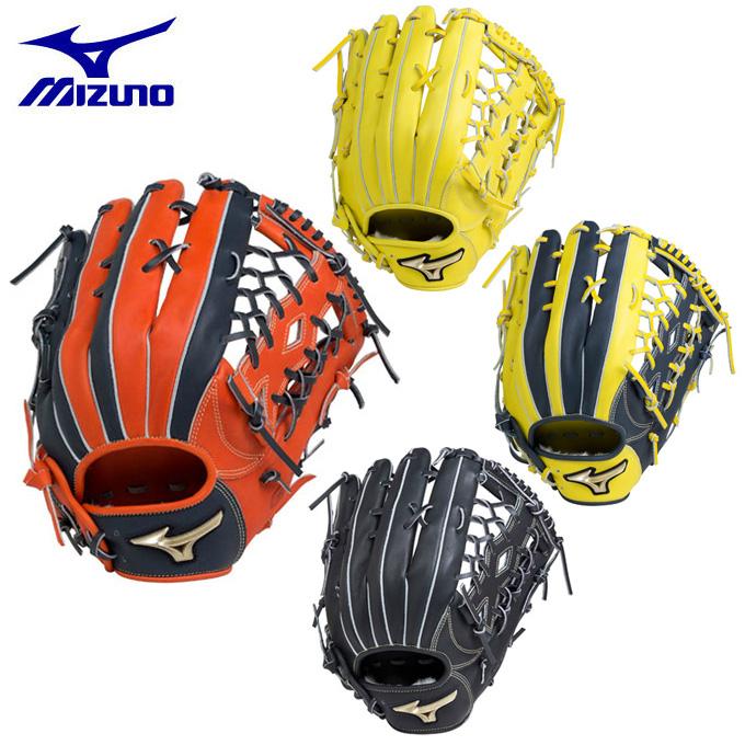 ミズノ MIZUNO ソフトボールグローブ 外野手用 ソフトボール用 グローバルエリート Hselection01 外野手用 1AJGS18207 bb