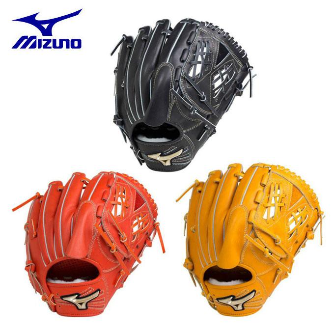 ミズノ MIZUNO 野球 硬式グラブ 投手用 硬式用 グローバルエリート Hselection02 1AJGH18301 bb