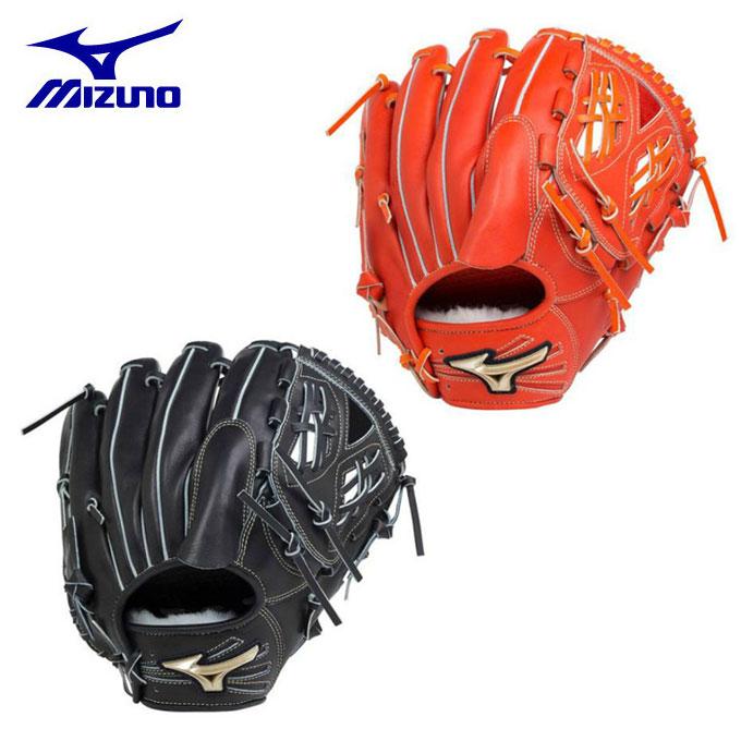 ミズノ MIZUNO 野球 硬式グラブ 投手用 ゴールデンエイジ硬式用 グローバルエリート Hselection02 1AJGL18001 bb