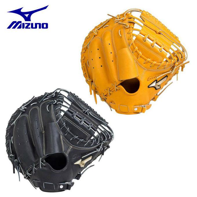 ミズノ MIZUNO 野球 硬式グラブ 捕手用 グローバルエリート ミット革命 1AJCH18310 bb