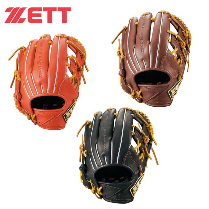ゼット ZETT 野球 少年軟式グラブ 内野手用 二塁手・遊撃手用 ゼロワンステージ BJGB71910 bb
