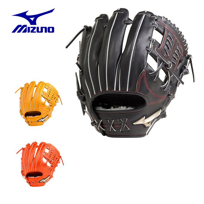 ミズノ 野球 一般軟式グラブ 内野手用 メンズ レディース 軟式用 グローバルエリート Hselection02 Hセレクション サイズ8 1AJGR20403 MIZUNO bb
