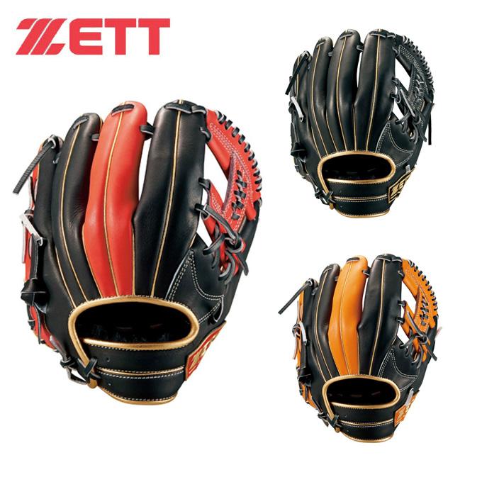 【期間限定5%OFFクーポン!】ゼット ZETT 野球 一般軟式グラブ 内野手用 メンズ レディース 軟式ネオステイタス 二塁手・遊撃手用 BRGB31950 bb