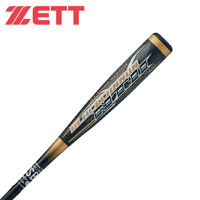 ゼット ZETT 野球 少年軟式バット ジュニア 少年軟式用FRP製バット ブラックキャノンNT2 BCT71080 8200 bb