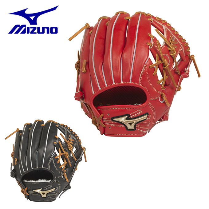 ミズノ 野球 一般軟式グラブ 内野手用 メンズ 軟式用 グローバルエリート HSelection02+ プラス 内野手用/サイズ9 1AJGR22423 MIZUNO bb