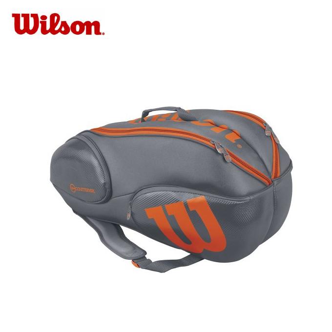 ウイルソン Wilson テニス ラケットバッグ VANCOUVER 9 PACK GYOR Burn WRZ844709