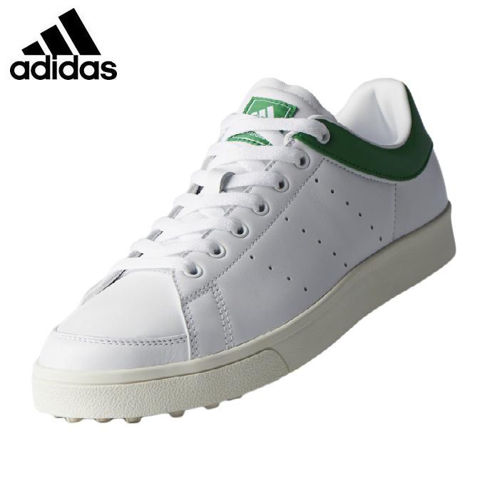 【沖縄県内(離島含)3,240円以上購入で送料無料】アディダス adidas ゴルフシューズ スパイクレス メンズ アディクロス クラシック ワイド F33781 WI511