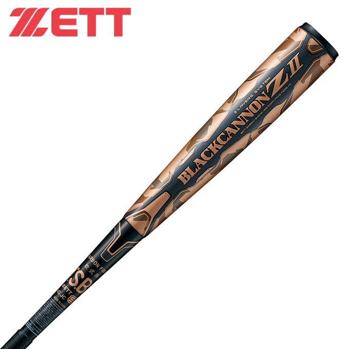 ゼット ZETT 野球 一般軟式バット メンズ レディース ブラックキャノン-Z2 BCT35885 1900