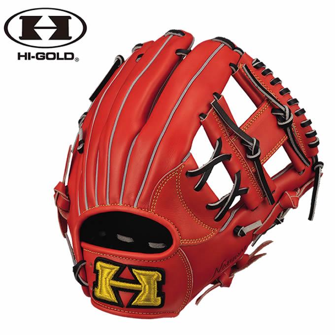 ハイゴールド HI-GOLD 野球 一般軟式グラブ 内野手用 メンズ 己極シリーズ おのれきわめ 二塁手・遊撃手用 OKG-6126