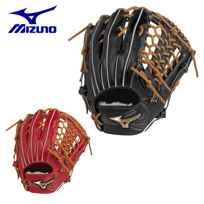 ミズノ 野球 一般軟式グラブ 外野手用 メンズ 軟式用 グローバルエリート HSelection02+ プラス 外野手用/サイズ13 1AJGR22407 MIZUNO