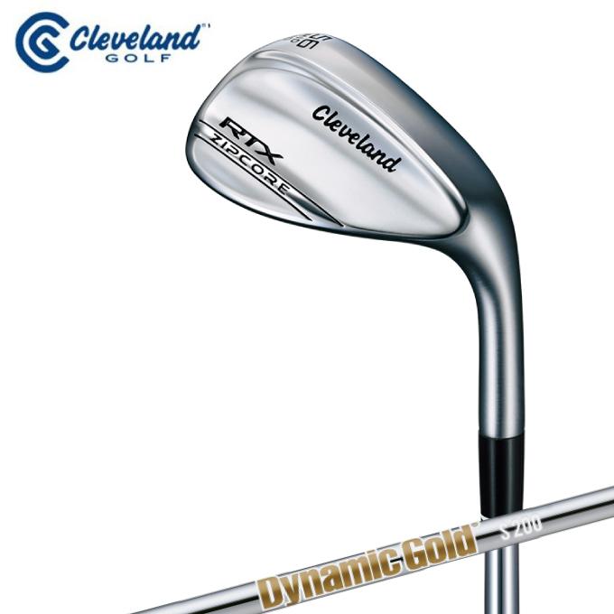 クリーブランド Cleveland ゴルフクラブ ウェッジ メンズ RTX ジップコア ウェッジ ツアーサテン ダイナミックゴールド シャフト RTX ZIPCORE WG