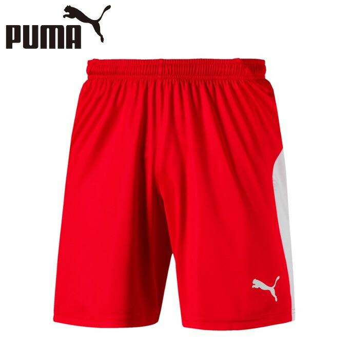 プーマ サッカーウェア ゲームパンツ ジュニア 703635-01 PUMA 爆安 LIGA 2020 新作