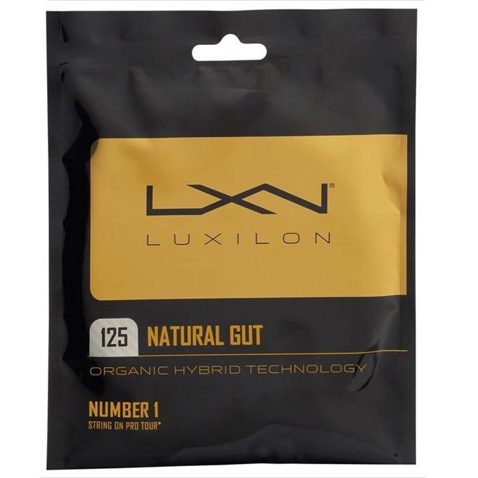 ルキシロン(Luxilon) ナチュラル ルキシロンナチュラル125 (1.25mm) (Luxilon NATURAL 125) WRZ949125 ディミトロフ使用モデル 硬式テニス ガット ストリング