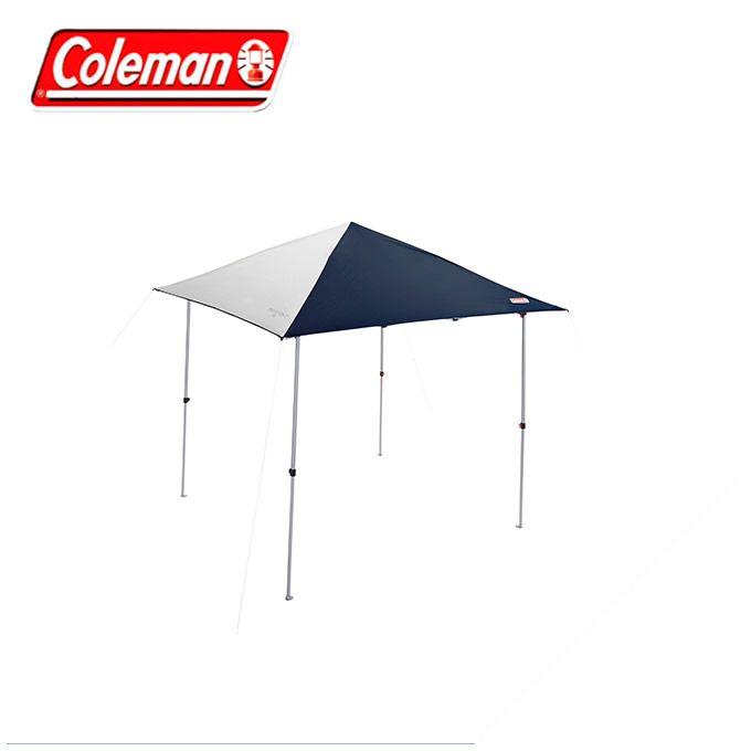コールマン(Coleman) ワンタッチタープ インスタントバイザーシェード M ネイビー グレー 2000033118 rkt