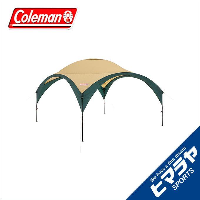 コールマン(Coleman) ワンタッチタープ パーティーシェードDX 360 グリーン ベージュ 2000033123 rkt