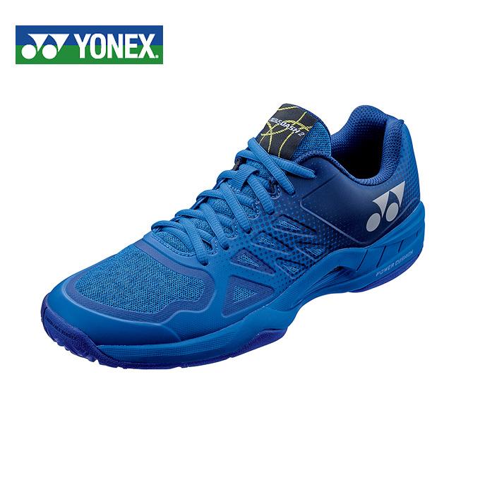 ヨネックス(YONEX) パワークッションエアラスダッシュ2 ワイド AC (POWER CUSHION AERUSDASH 2 WIDE AC) SHTAD2AC-002 ブルー 2018年モデル テニスシューズ メンズ レディース オールコート