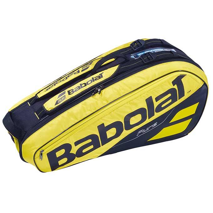 バボラ(Babolat) 【ラケット6本収納可能】 ピュアアエロ ラケットホルダー 6PK (PURE AERO BAG) BB751182 ラケットバッグ テニスバッグ ラケットケース