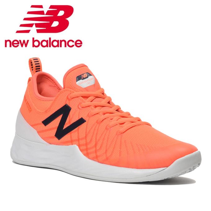 ニューバランス(new balance) FRESH FOAM LAV O 2E OC MCOLAVHE ORANGE/WHITE 2019年モデル テニスシューズ メンズ オムニクレー