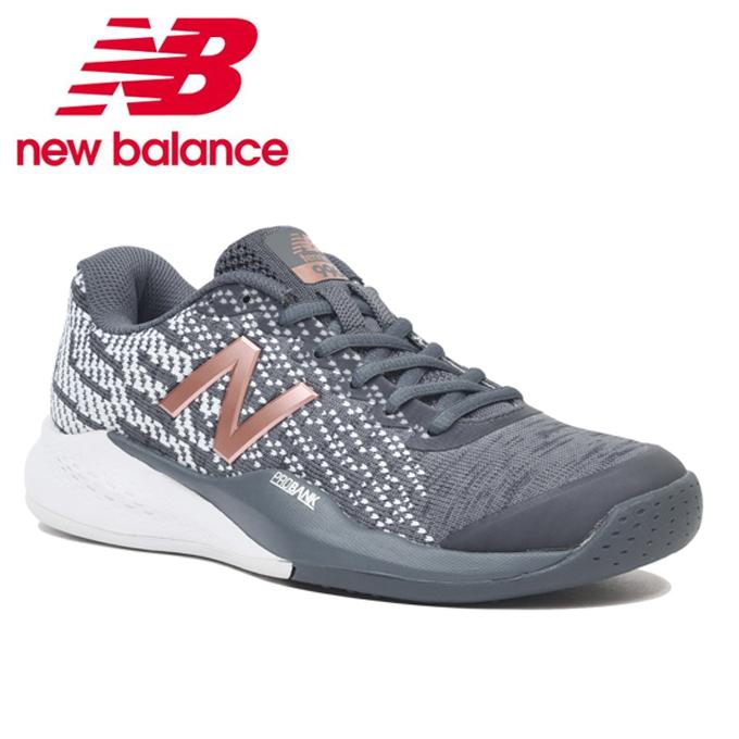 ニューバランス(new balance) ウィメンズ WCO996V3 2E OC GRAY 2019年モデル テニスシューズ レディース オムニクレー