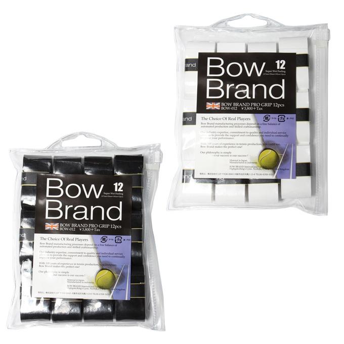 ボウ BOW 限定価格セール テニス バドミントン グリップテープ ウェットタイプ 在庫処分 rkt プログリップ スーパーウエット 12本入り BOW012