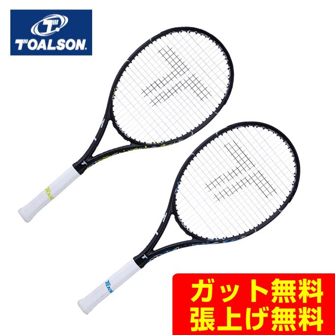 【5/5限定 500円OFFクーポン発行中】トアルソン(Toalson) エスマッハツアーXF300 (S-MACH TOUR XF 300) 1DR817 2019年モデル 硬式テニスラケット