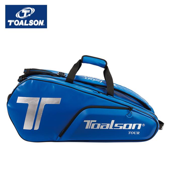 【12/1(日)限定 エントリーでP10倍!】【7%OFFクーポン対象】トアルソン(Toalson) (ラケット10本収納可能) ツアーバッグ (TOUR BAG) 1FT1801B ラケットバッグ リュック テニスバッグ