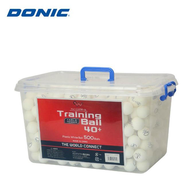 【5/5限定 500円OFFクーポン発行中】ドニック(DONIC) (THE WORLD CONNECT) ワールドトレーニングボール 500球 DV003A 卓球ボール 練習球