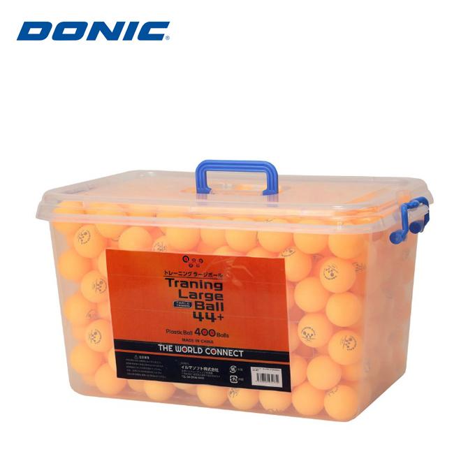 【期間限定 8%OFFクーポン対象】ドニック(DONIC) (THE WORLD CONNECT) ワールドトレーニングラージボール400球 DV006A 卓球ボール 練習球 44mm